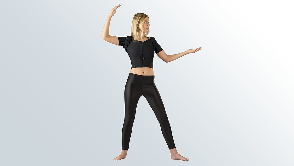 Lipomed glandex compression garments aesthetical surgery