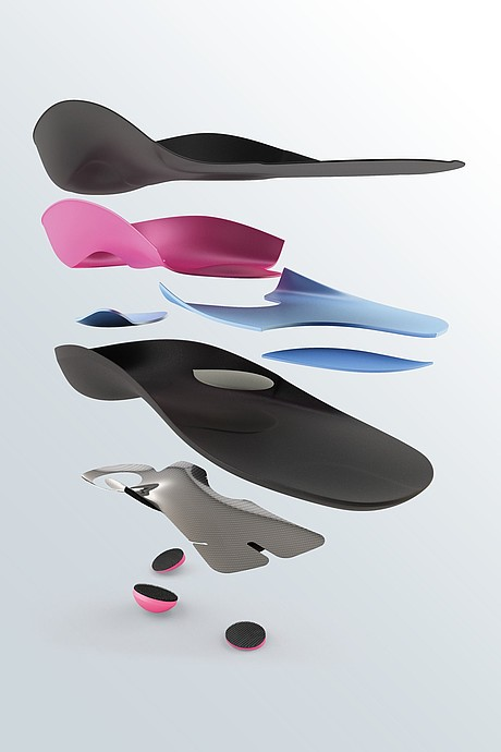 igli Active individual carbon insoles composition
