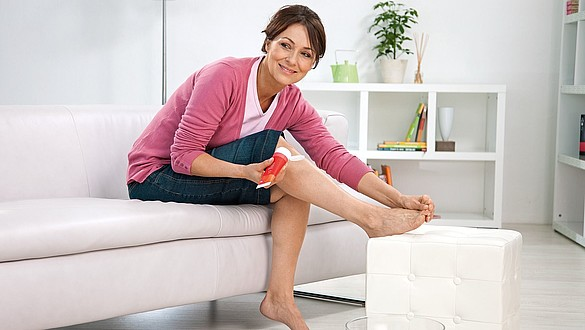 Skin care products for soothing compression therapy