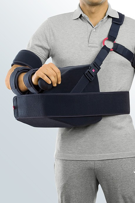 Shoulder abduction splint rest