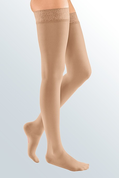 mediven elegance compression stockings sand