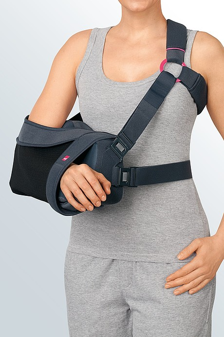 medi SAS® comfort shoulder abduction splint rests
